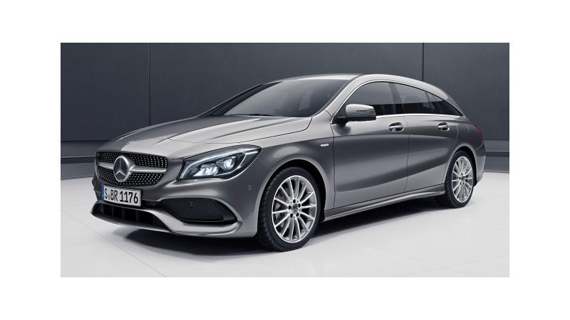 Mercedes-Benz to showcase CLA Shooting Brake Night edition at Geneva Motor Show