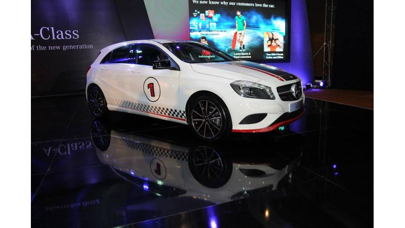 Mercedes-Benz A-Class Launched at 21.93 lakh