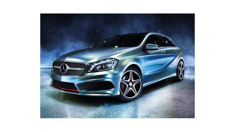 Mercedes-Benz A-Class just a day away from its Indian launch