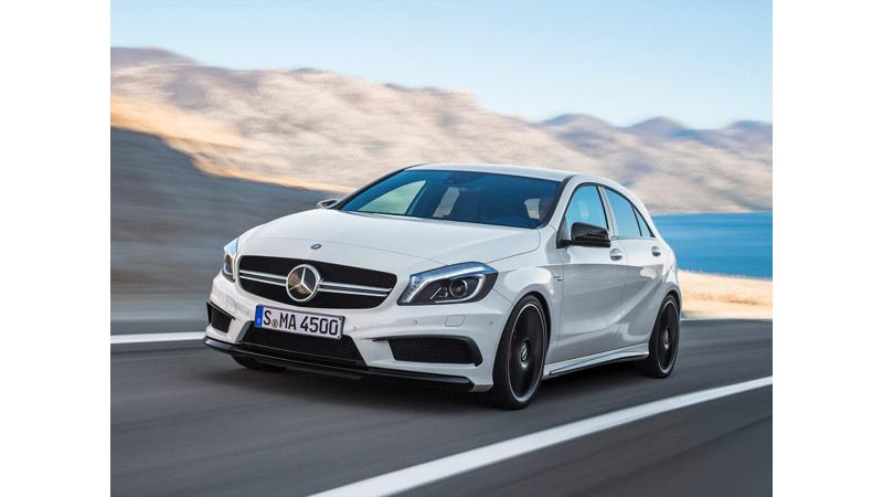 Mercedes-Benz A45 AMG to mark presence on Indian roads soon