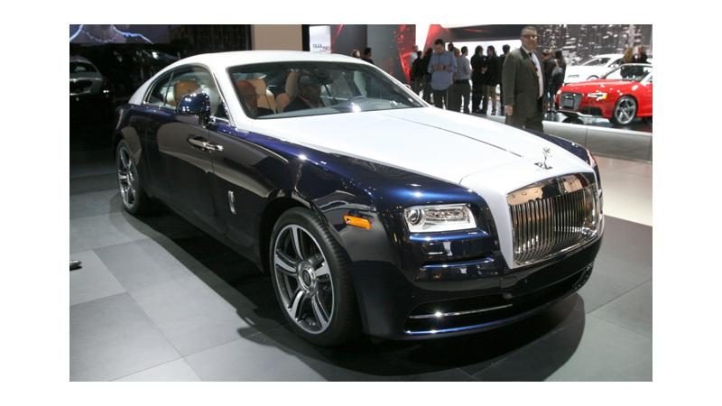 2014 Rolls Royce Wraith likely to be launched in August