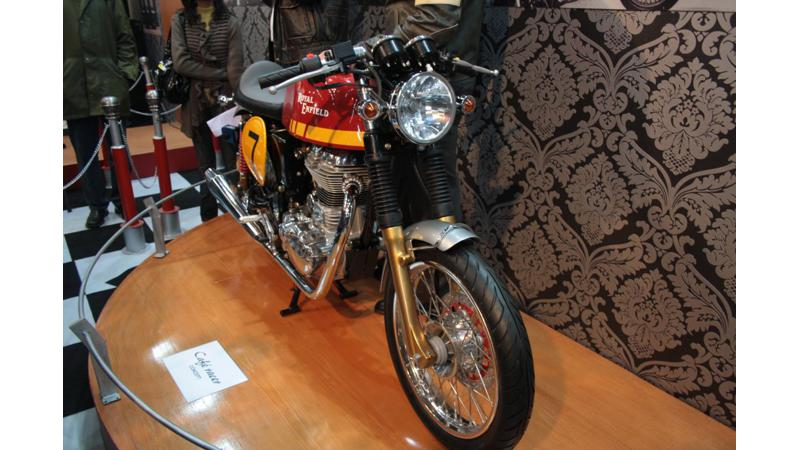 Royal Enfield mulling over a 250 cc model in India; Cafe Racer launch this year