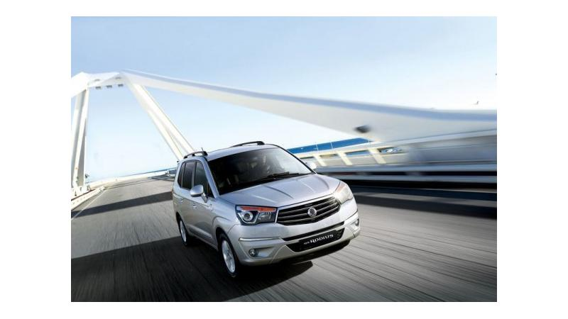 SsangYong to launch Rodius in India by the end of 2013