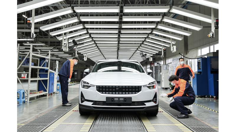 Polestar 2 production starts in China