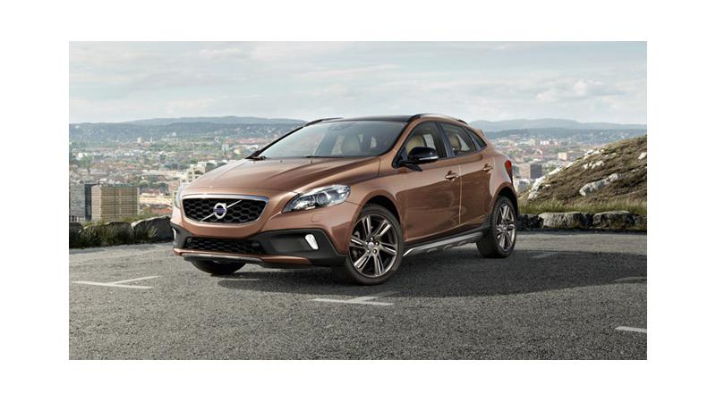 Volvo V40 crossover to mark its Indian debut on June 14, 2013
