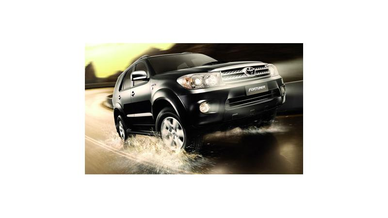 Toyota Fortuner Coming to India in September 2009