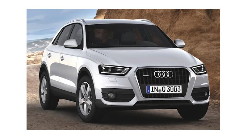 Shootout between the BMW X1 and Audi Q3