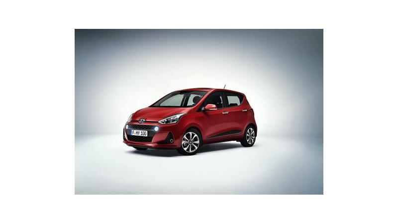 Hyundai i10 revised in the international market