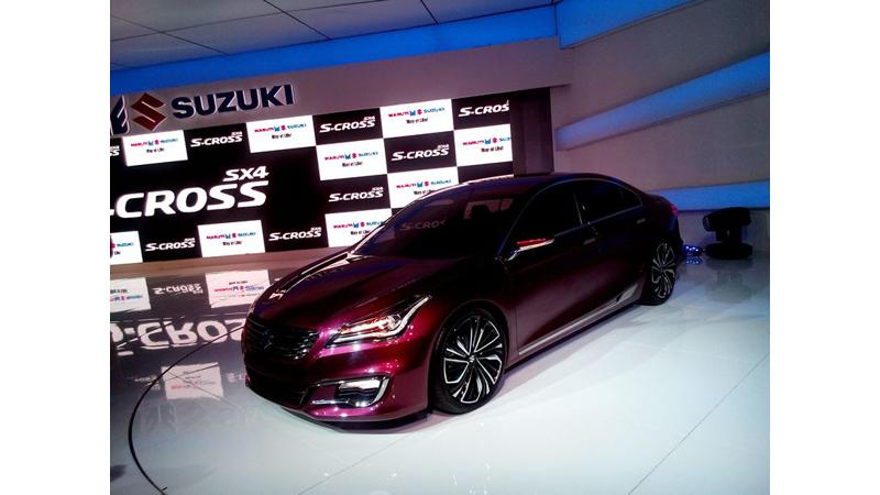Maruti Suzuki S-Cross unveiled