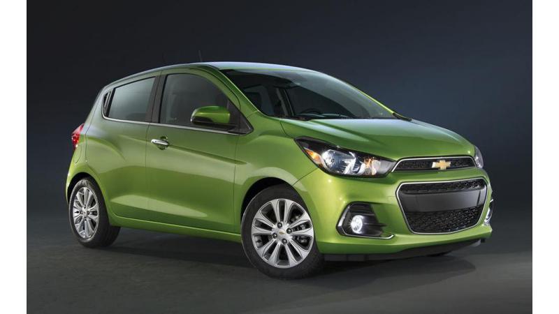 2015 New York Auto Show: New-generation Chevrolet Spark aka Beat unveiled