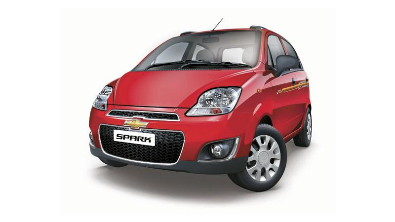 Chevrolet Spark limited edition rolled out at Rs 3.44 lakh