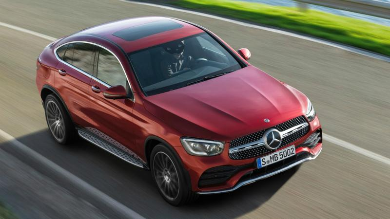Mercedes-Benz launches the GLC Coupe facelift in India at Rs 62.70 lakhs