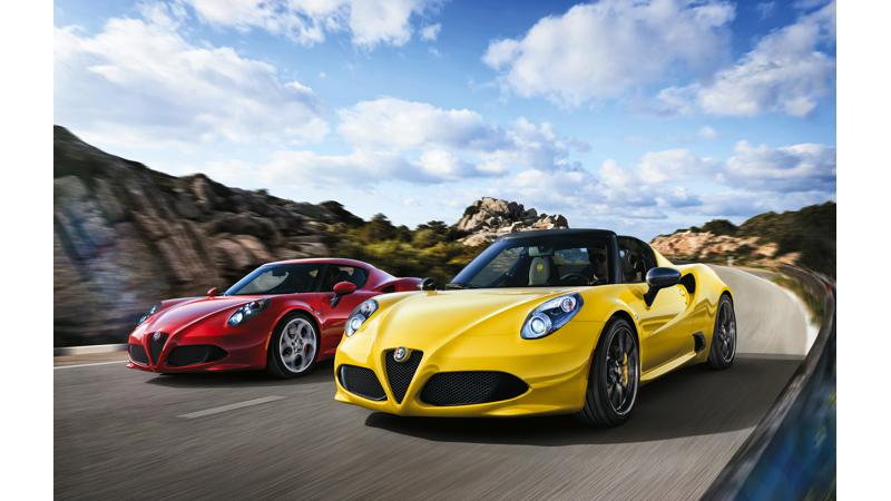 Alfa Romeo 4C Spider about to make a breakthrough at