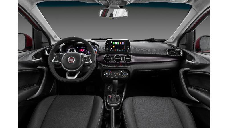Fiat Cronos interior details