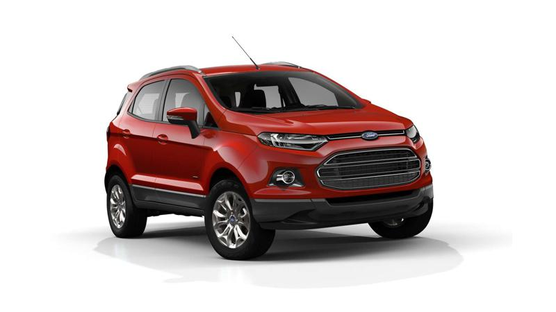 Ford EcoSport unveiled in Hyderabad and Ahmedabad