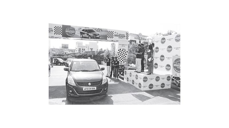 Swift DZire diesel records a mileage of 45.8 kmpl at DZirable Mileage Rally