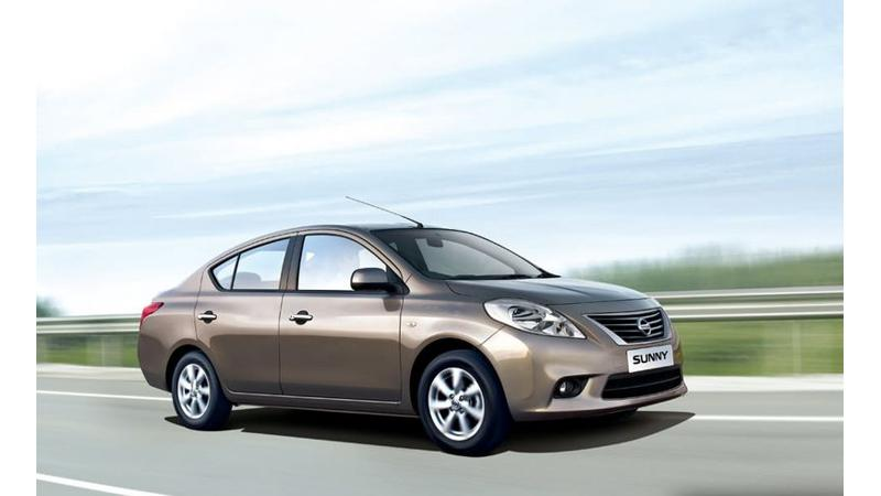 Facelifted Nissan Sunny expected to soon arrive in India