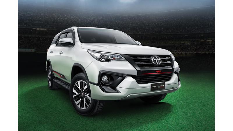Toyota launches Fortuner TRD Sportivo at Rs 31.01 lakhs