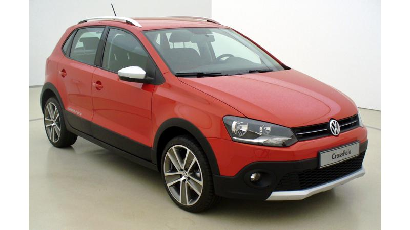 Volkswagen CrossPolo caught testing on Indian streets