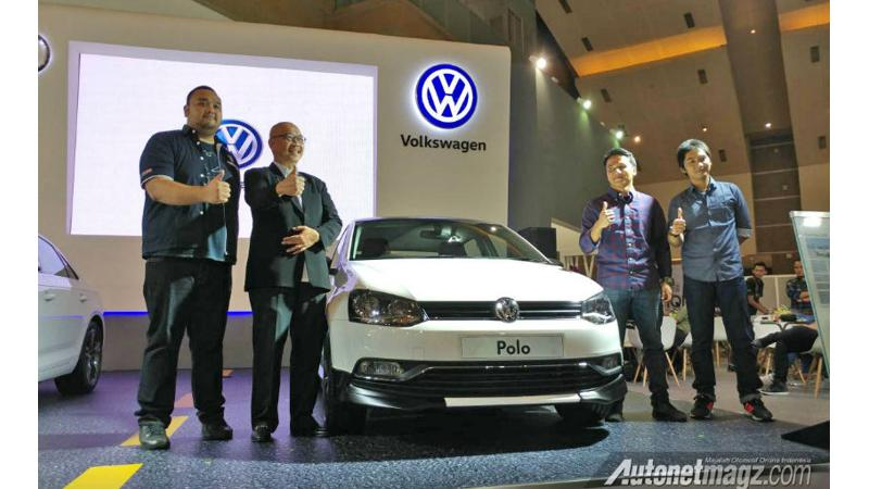 Volkswagen unveils Polo VRS at Indonesia Motor Show