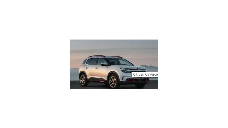 Citroen C5 Aircross Photos