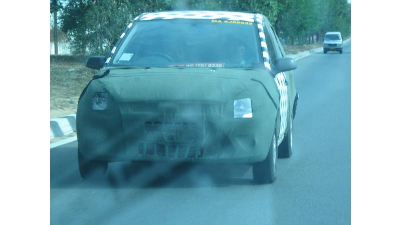 Scooped - Spy Pictures of New Sedan from Ford  Any Guesses?