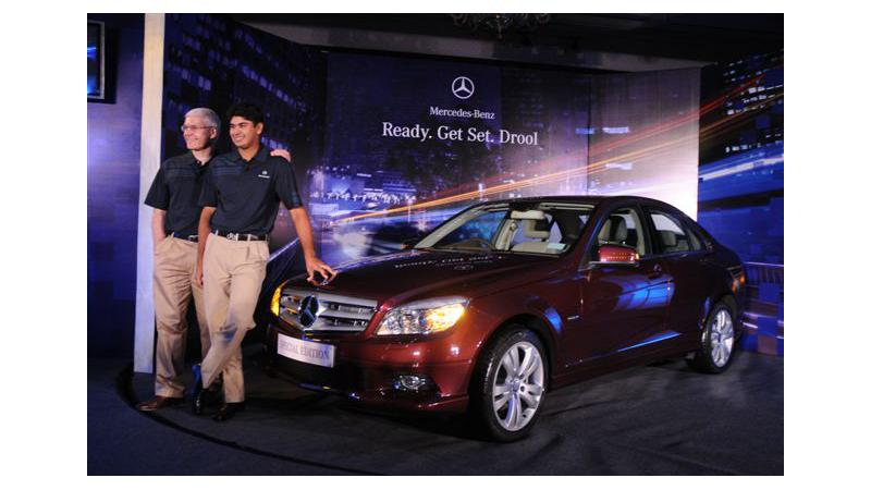 Mercedes-Benz India launches the Special Edition C-Class exclusively styled for the Indian market.