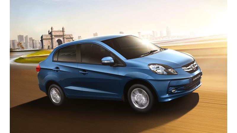 6000 Honda Amaze units booked in India within 5 days