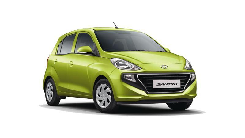 Hyundai Santro Images