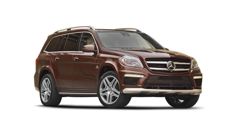 Mercedes Benz GL Images