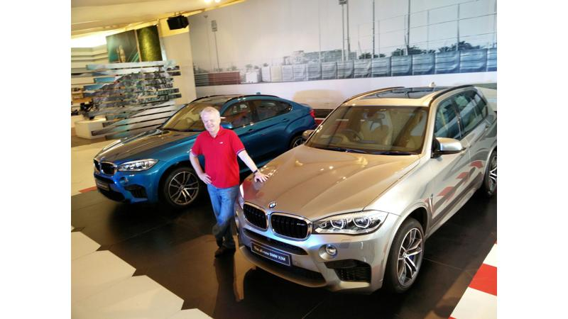 BMW launches X6 M for 1.60 Crore and X5 M for 1.55 Crore