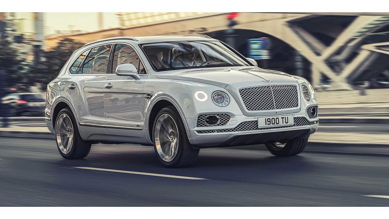 Bentley showcases hybrid Bentayga at 2018 Geneva Motor Show