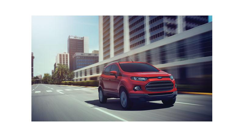 India days away from the launch of Ford EcoSport