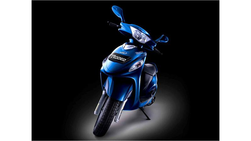 Mahindras maiden venture in two-wheeler market