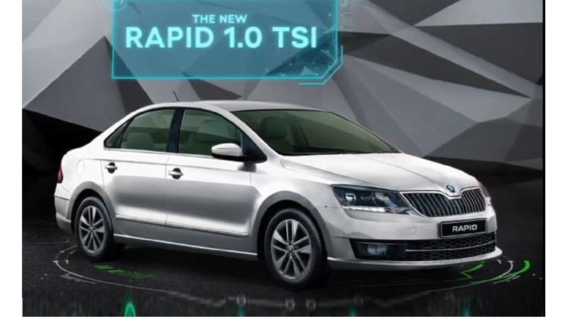 Skoda Rapid BS6 1.0 TSI launched in India at Rs 7.49 lakh