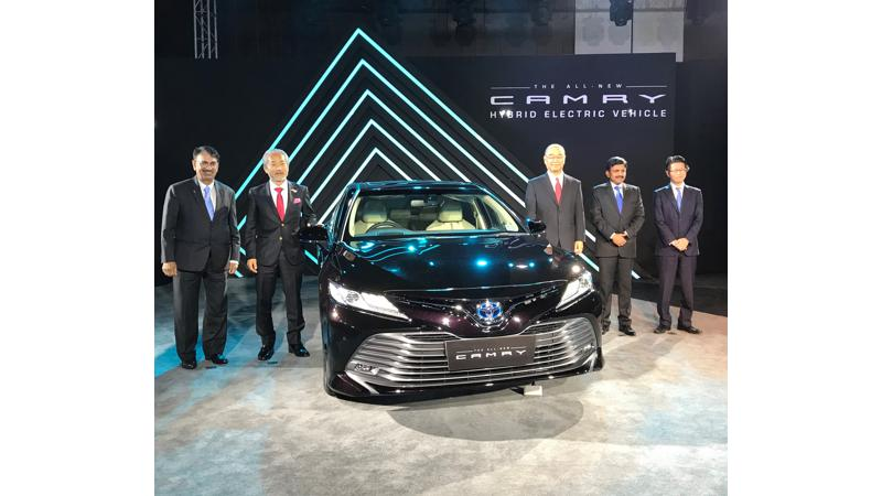Toyota launched the new Camry in India at Rs 36.95 lakhs