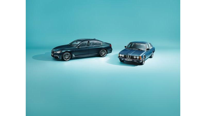 BMW 7 Series Edition 40 Jahre to be launched at Frankfurt
