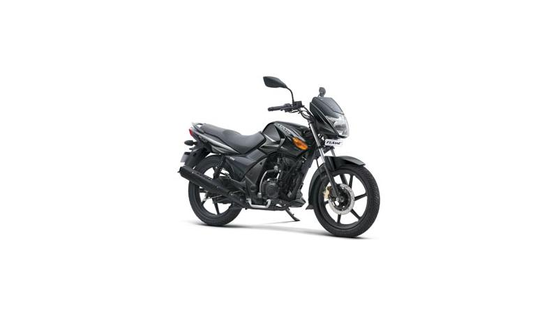 TVS Launched Flame with Twin-Spark Plug Technology