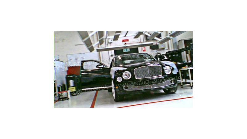 New Bentley: Spy Images