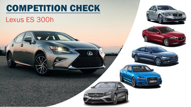 Competition check: Lexus ES 300h