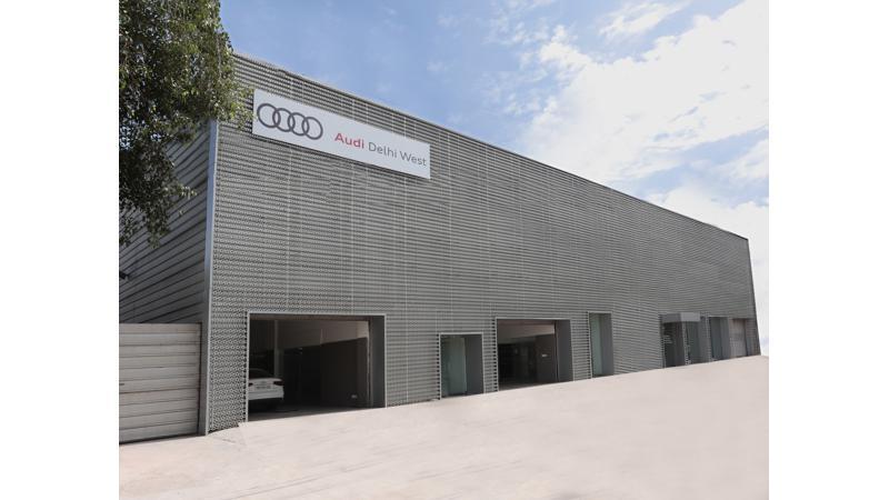 Audi inaugurates new service facility in Delhi; christened Audi Service Delhi West