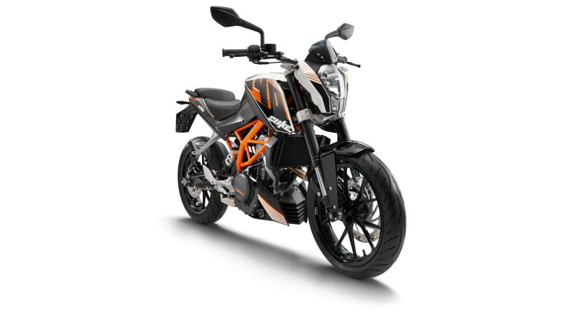 KTM 390 Duke launched in India at Rs.1.80L