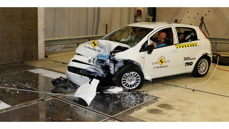 Fiat Punto gets zero stars in Euro NCAP