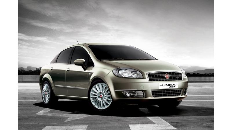 New Fiat Linea T-Jet model launched at Rs. 7.6 lakh