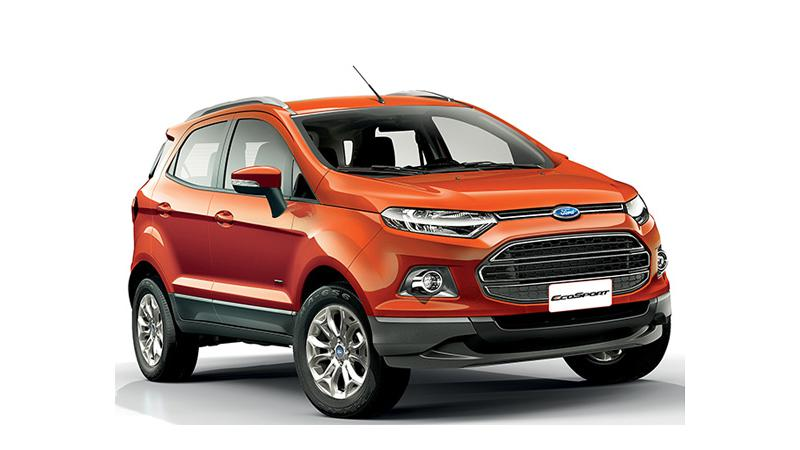 Book a Ford EcoSport very soon