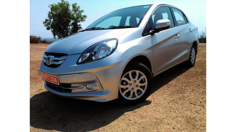 Honda Amaze to mark the arrival of Hondas diesel line up in India