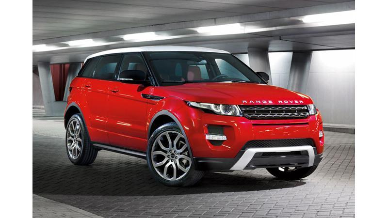 Jaguar Land Rover records impressive Evoque sales in India
