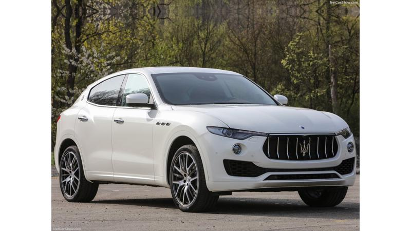 Maserati Levante to come to India in 3 variants