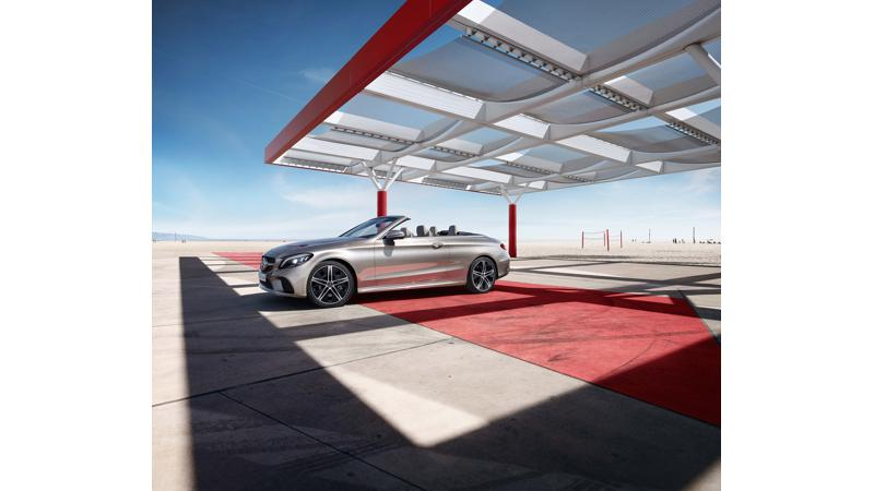 Mercedes launches 2018 C-Class cabriolet in India at Rs 62.25 lakhs