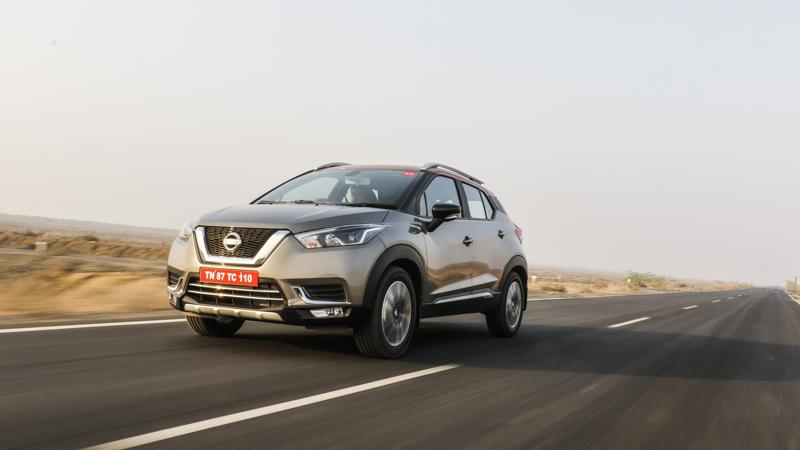 Nissan to launch Kicks in four variants and 11 colour schemes